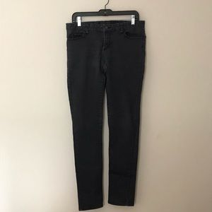 "Billabong charcoal grey ""legging"" jeans"